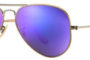Ray Ban Aviator Violet Mirror Flash 55mm